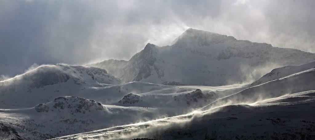 """Foto: © Øystein Wiik, """"Romsdalsalpene"""""""