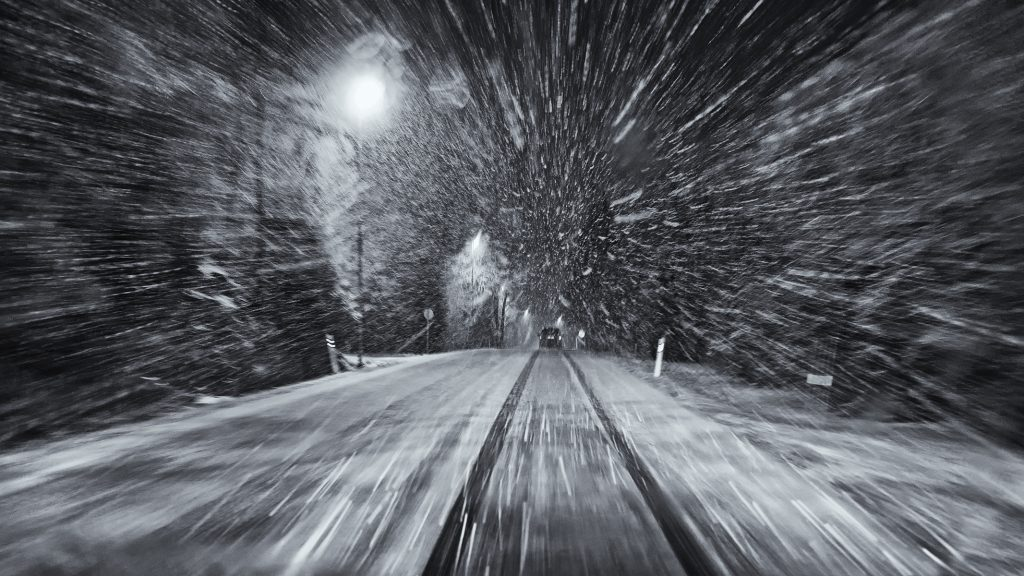 "Foto: © Roar Bech, ""Driving home for Christmas"""
